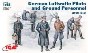 ICM 48082 German Luftwaffe Pilots and Ground Personnel