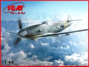 ICM 48107 Model myśliwca Messerschmitt Bf 109F-4/R6