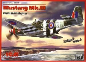 ICM 48123 Samolot Mustang Mk.III model 1-48
