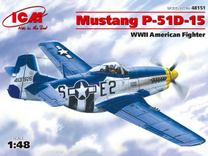 ICM 48151 Samolot Mustang P-51D-15 model 1-48