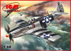 ICM 48154 Samolot Mustang P-51K model 1-48