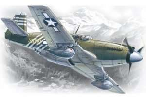 ICM 48161 Mustang P-51A WWII American Fighter