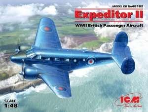 ICM 48182 Samolot Beechcraft C-45F Expeditor II