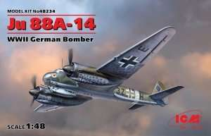 ICM 48234 Ju 88A-14 German Bomber