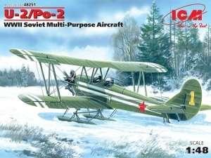 ICM 48251 Radziecki samolot U-2/Po-2 WWII