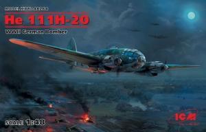 ICM 48264 Bombowiec He 111H-20