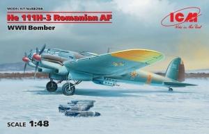 ICM 48266 Bombowiec Heinkel He 111H-3 Rumunia skala 1-48