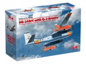 ICM 48286 Samolot DB-26B/C z dronami Q-2 model 1-48