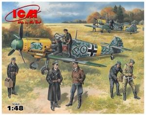 ICM 48803 Samolot Bf 109F-2 z figurkami