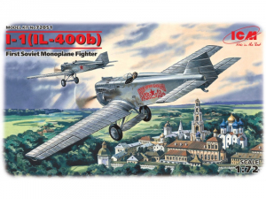 ICM 72051 Samolot I-1 IŁ-400b model 1-72