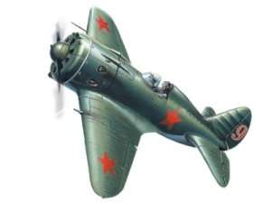 ICM 72072 I-16 type 18 WWII Soviet Fighter