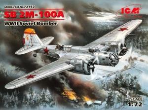 ICM 72162 Samolot SB 2M-100A model 1-72