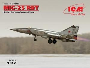 ICM 72172 Samolot MiG-25 RBT model 1-72