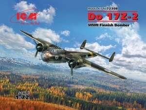 ICM 72308 Bombowiec Do 17Z-2