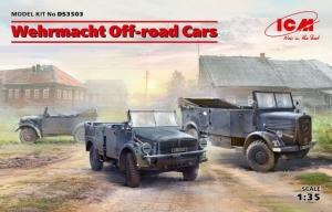 ICM DS3503 Samochody terenowe Wehrmachtu kfz.1, Horch 108, L1500A