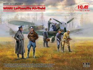 ICM DS4801 Zestaw WWII Luftwaffe Airfield skala 1-48