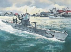 ICM S.010 Okręt podwodny U-Boat typ IIB 1943