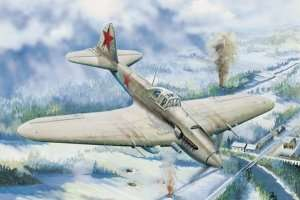 Il-2 Sturmovik model Hobby Boss 83201