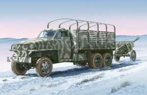 Italeri  6499 Land Lease U.S. truck with ZIS-3 gun