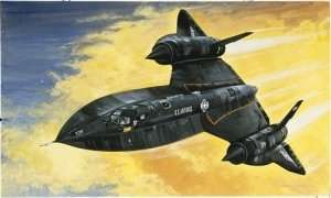 Italeri 0145 SR-71 Blackbird with Drone