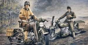 Italeri 0322 U.S. Motorcycles - Harley Davidson