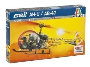 Italeri 095 Bell AH-1/AB-47 skala 1-72