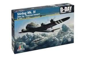 Italeri 1350 Stirling Mk. IV Glider Tug - Paratroop transport