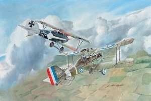 Italeri 1374 Dwupłatowiec S.E.5a oraz Albatros D.III