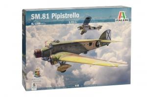 Italeri 1388 Samolot SM.81 Pipistrello model 1-72