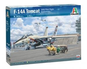 Italeri 1414 Samolot F-14A Tomcat skala 1-72