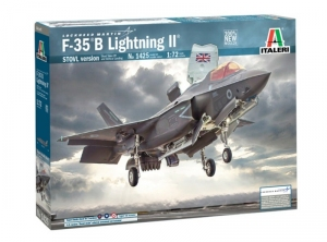 Italeri 1425 Samolot F-35 B Lightning II wersja STOVL