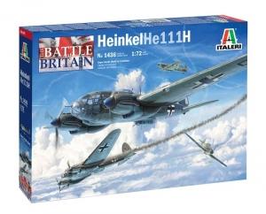 Italeri 1436 Bombowiec Heinkel He111H model 1-72