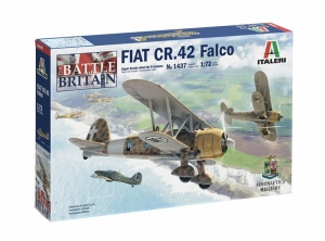 Italeri 1437 Samolot Fiat CR.42 Falco model 1-72