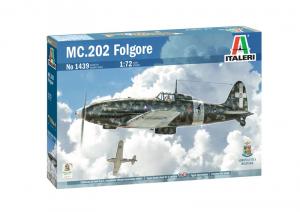 Italeri 1439 Samolot Macchi MC.202 model 1-72
