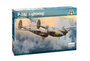 Italeri 1446 Samolot P-38J Lightninig model 1-72