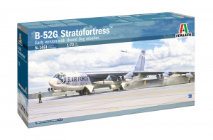 Italeri 1451 Samolot B-52G Stratofortress model 1-72