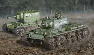 Italeri 15763 Czołg ciężki KV-1 / KV-2 skala 1-56 Warlord Games