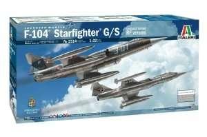 Italeri 2514 F-104 Starfighter G/S