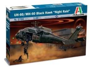 Italeri 2706 UH-60/MH-60 Black Hawk Night Raid