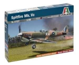 Italeri 2727 model myśliwca Spitfire Mk.Vc