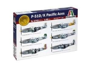 Italeri 2743 model samolotu P-51 D/K Pacific Aces