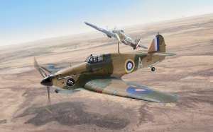 Italeri 2768 Samolot Hurricane Mk.I Trop skala 1-48