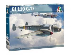 Italeri 2794 Samolot Messerschmitt Bf 110 C/D