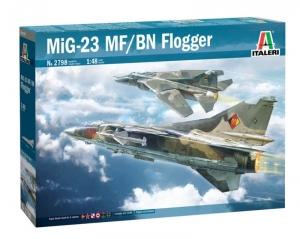 Italeri 2798 Samolot MiG-23 MF/BN Flogger - polska kalkomania