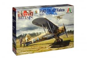 Italeri 2801 Samolot Fiat CR.42 Falco Bitwa o Anglię