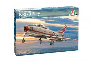 Italeri 2811 Samolot North American FJ-2/3 Fury model 1-48