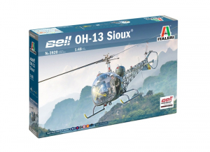 Italeri 2820 Śmigłowiec Bell OH-13 Sioux model 1-48