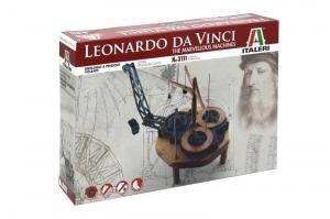 Italeri 3111 Leonardo da Vinci - latający zegar wahadłowy