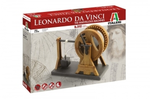 Italeri 3112 Leonardo da Vinci - dźwig