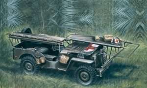 Italeri 326 1/4 ton 4x4 Ambulance Jeep